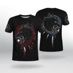 Viking Gear : Hati and Skoll - Viking Shirt 3D