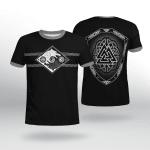 Viking Gear : Hati and Skoll - Valknut - Shield - Viking Shirt 3D