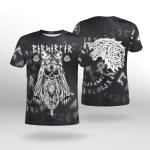 Viking Gear : Viking Fenrir Rune - Viking Shirt 3D