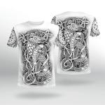 Viking Gear : Viking Art - Jormungandr - Viking Shirt 3D