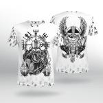 Viking Gear : Vegvisir Bear - Odin Raven - Viking Shirt 3D