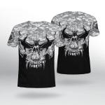 Viking Gear : Viking With Camo - Viking Shirt 3D