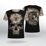 Viking Gear : Viking Camo Valknut Rune - Viking Shirt 3D