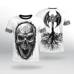 Viking Gear : Viking Axe - Tree Of Life - Viking Shirt 3D