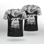 Viking Gear : Viking Camo Valknut - Viking Shirt 3D