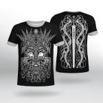 Viking Gear : Odin Raven - Ulfberht Swords - Viking Shirt 3D