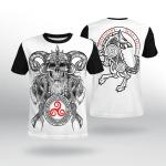 Viking Gear : Warrior - Fenrir - Viking Shirt 3D