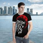 Viking Gear : Fenrir Vegvisir - Viking Shirt 3D