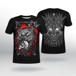 Viking Gear : Odin - Fenrir Wolf - Viking Shirt 3D