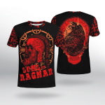 Viking Gear : Viking Raven - Viking Shirt 3D