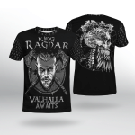 Viking Gear : Valhalla Awaits - Viking Shirt 3D