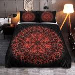 Viking Gear : Fire Vegvisir - Viking Quilt Bedding Set