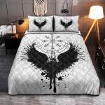 Viking Gear : Raven Vegvisir - Viking Quilt Bedding Set