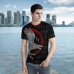 Viking Gear : Raven Rune - Viking Hoodie 3D