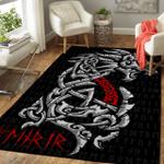 Viking Gear : Fenrri - Rune - Viking Area Rug