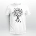 Viking Gear : Yggdrasil And Vegvisir - Viking T-shirt