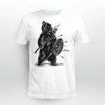 Viking Gear : Viking Bear With Shield - Viking T-shirt