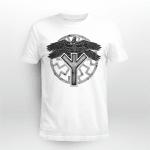 Viking Gear : Viking Raven Huginn And Muninn - Viking T-shirt