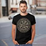 Viking Gear : Viking Vegvisir - Viking T-shirt