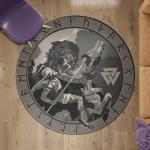Viking Warrior - Viking Round Carpet