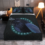 Raven And Rune - Viking Quilt Bedding Set