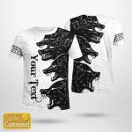 Fenrir Viking - Viking T-Shirts Personalized