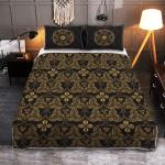 Triple Horn of Odin - Viking Quilt Bedding Set
