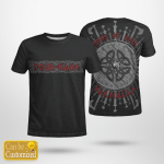 Sons Of Odin - Valhalla - Viking T-Shirts Personalized