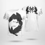 Viking Raven Of Odin - Hugin And Munin - Viking T-Shirts All-Over-Print