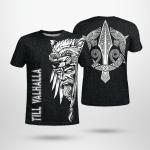 Odin - Till Valhalla - Viking T-Shirts All-Over-Print