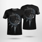 Viking Wolf - Viking T-Shirts All-Over-Print