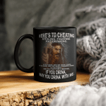 If You Drink May You Drink With Me - Viking Mug