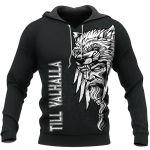 Odin Raven - Till Valhalla - Viking Hoodie All Over Print