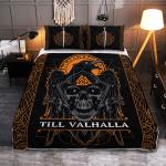 Viking Raven - Till Valhalla - Viking Quilt Bedding Set