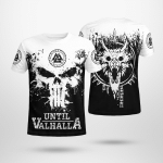 Until Valhalla - Fenrir - Viking T-Shirts All-Over-Print