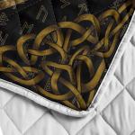 Viking Fenrir And Rune - Viking Quilt