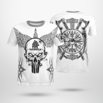 Raven Until Valhalla - Viking T-Shirts All-Over-Print