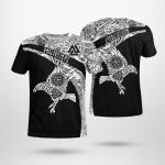 Muninn And Huginn - Viking Raven - Viking T-Shirts All-Over-Print