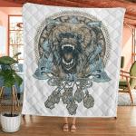 Wolf Fenrir - Viking Quilt