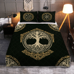 Yggdrasil - The Tree of Life in Norse Mythology   Yggdrasil - Viking Quilt Bedding Set