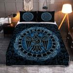 Raven And Rune Viking - Viking Quilt Bedding Set