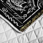 Viking Raven Tree Of Life - Yggdrasil - Viking Quilt Bedding Set