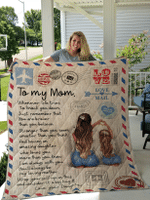To My Mom Blanket for Mother