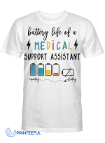 Battery Life Of A Medical Support Assistant
