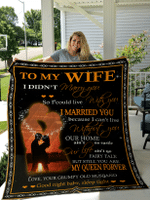 To My Wife Blanket for Wife