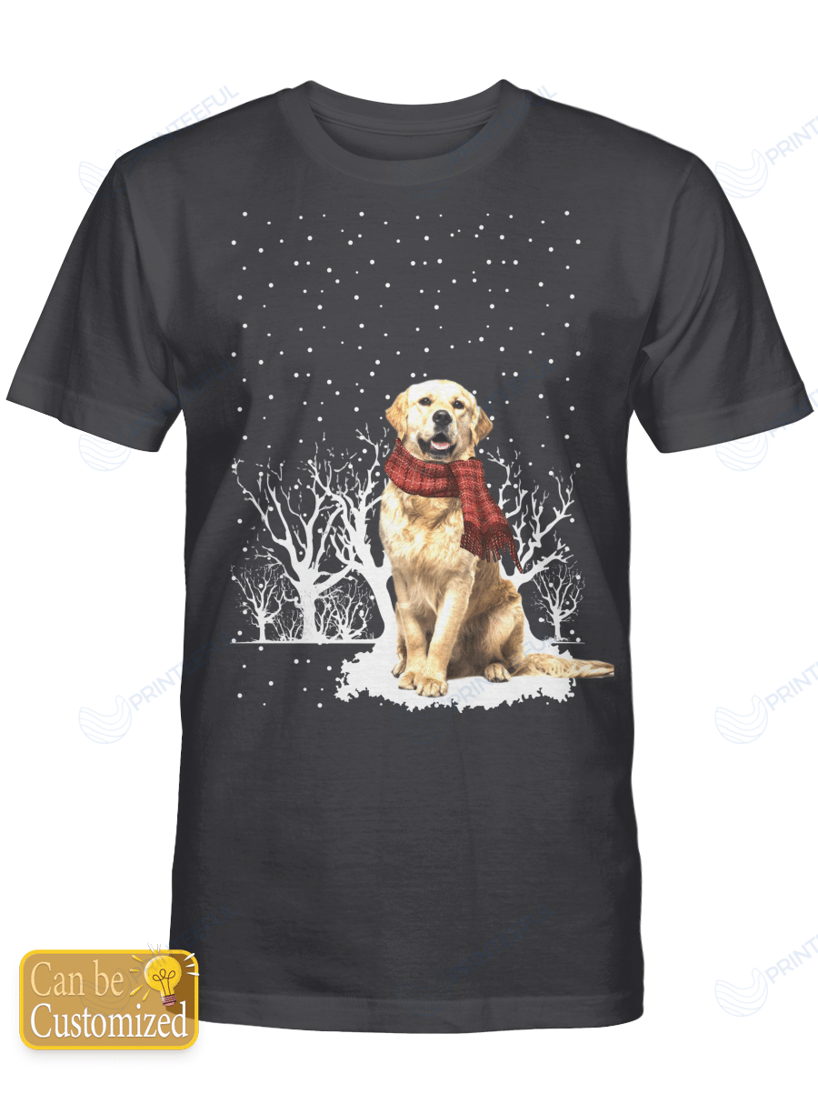 Snow Scarf - Dogs (dog breeds can be changed)