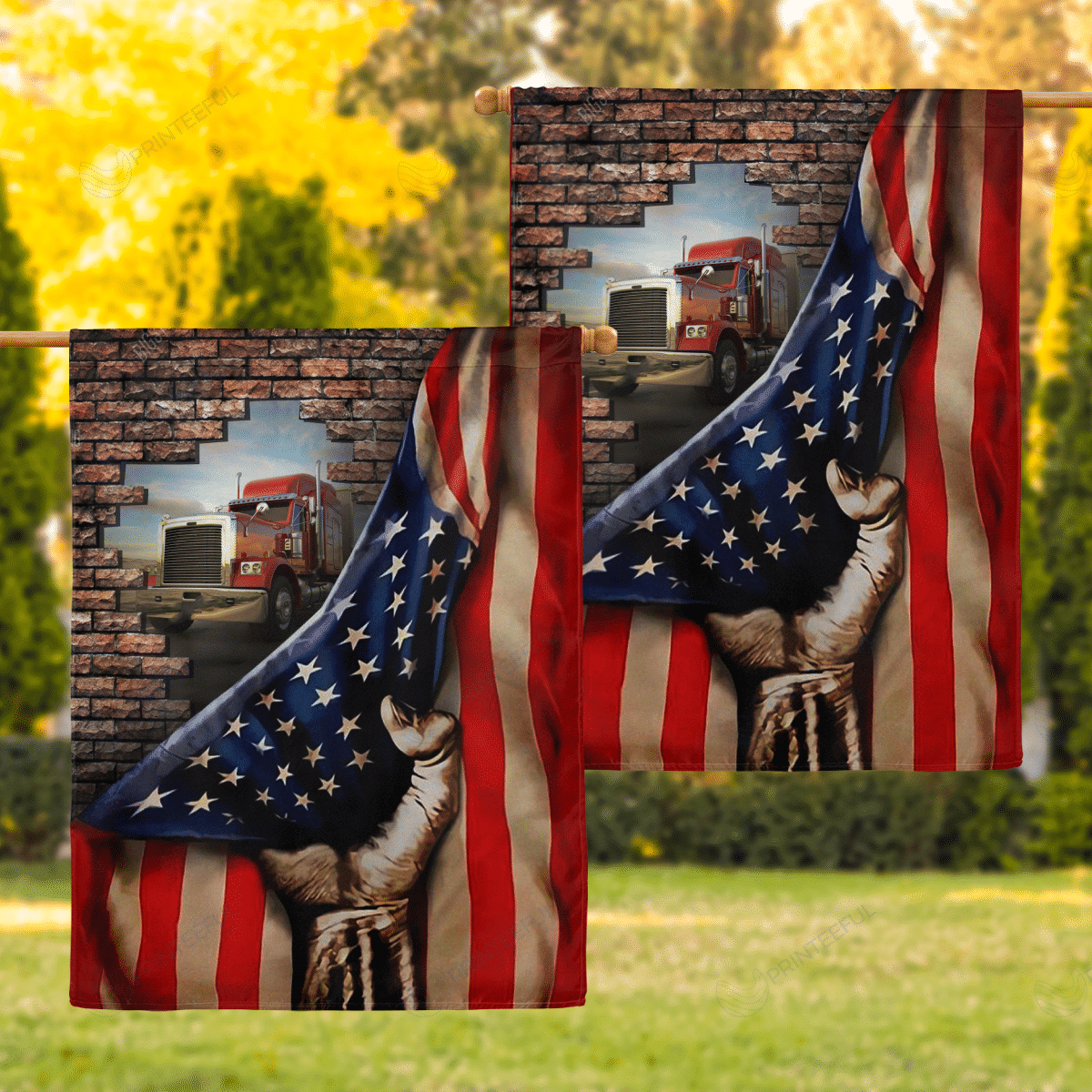 House Flags For Truckers Life