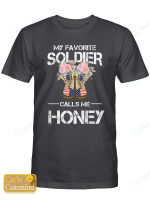 Personalized (Maximum 5 letters) Favorite Soldier Shirts Hoodies Cups Mugs Hand Bags Totes Army