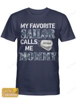 Personalized Sailor Mommy Mother Shirts Hoodies Cups Mugs Hand Bags Totes