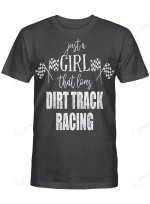 Just A Girl That Loves Dirt Track Racing Riders And Racers Shirts / Totes / Mugs / Hand Bags